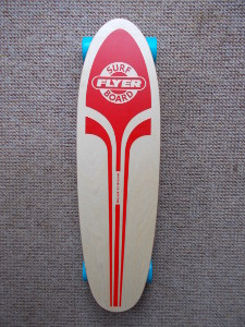 The Original reissue Red surf FLYER board