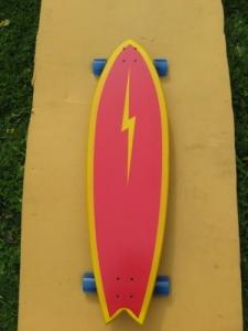 Still Stoked Sidewalk Surfer