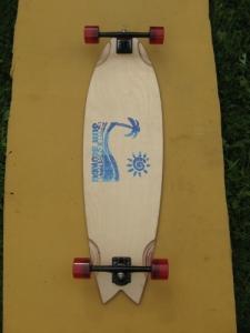 Still Stoked Sidewalk Surfer Biscuit